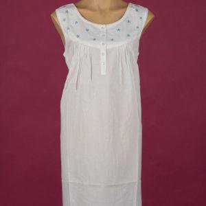 Star Dreamer **The Blue Star** short 100% cotton nightgown, blue stars. Star Dreamer Dawhaven Australia